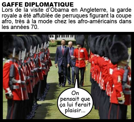 obama, garde royale, coupe afro, afro-américain, passer en revue, diplomatie, angleterre, royaume-unis, G8